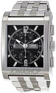 Oris Mens Rectangular Titanium Chronograph Automatic Watch. List price: $3800