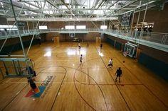Red Mountain Center Basketball Court