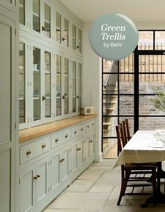 Sage Green Kitchen See More Cabinetry