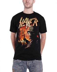 Authentic SLAYER South Of Heaven T-Shirt S-2XL NEW