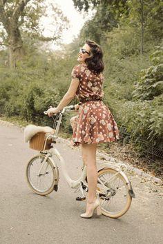 lovely mini bike