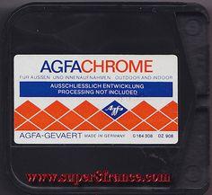 Développement et numérisation de ce chargeur Agfachrome peut s'effectuer chez SUPER8FRANCE