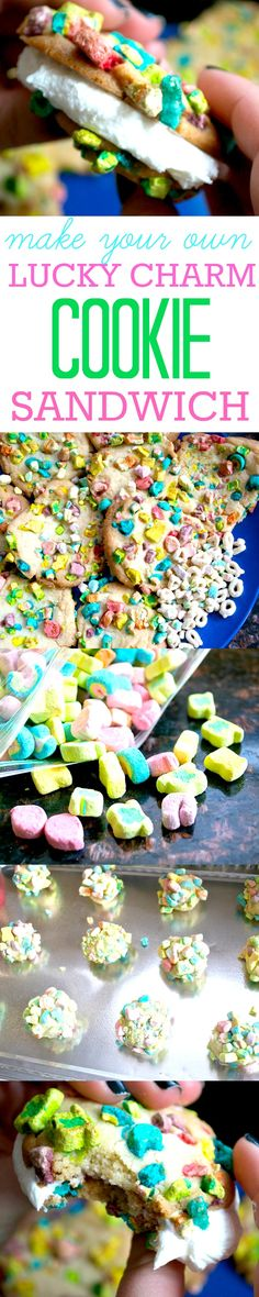 These Lucky Charm Cookie Sandwiches Only Use the Marshmallows, Because Priorities