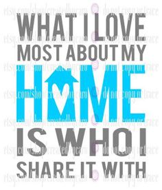 Love About My Home digital file by CreatedbyCaro on Etsy