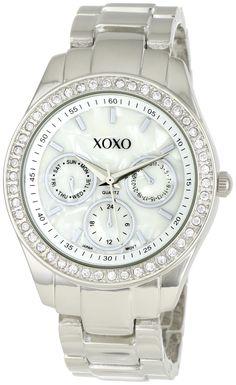 Best Rated Watches 3: XOXO Women's XO5301A Rhinestone Accent Silver-Tone Bracelet Watch, via best watch brands 2013 http://www.facebook.com/photo.php?fbid=169711339862552=a.166821456818207.1073741831.153836184783401=1=1
