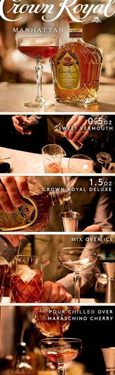 Celebrate World Whisky Day with the full-bodied flavor of Crown Royal Deluxe. Rich and robust, our signature blend marks the standard of excellence in Canadian whisky. Honor the day with a sophisticated cocktail recipe as simple as it is classic. To fix yourself a King of Manhattan, combine 1.5 oz Crown Royal Deluxe, .5 oz sweet vermouth, and 2 dashes real bitters into a mixing glass with ice and stir until chilled. Pour chilled over maraschino cherry and enjoy!