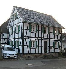 Fachwerkhaus in Overath www.wikipedia.de