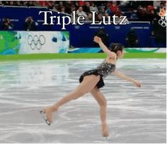Triple Lutz: A GIF Guide to Figure Skaters' Jumps at the #wintergames