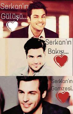 Serkan's looks. Turkish Men, Turkish Actors, Cherry Season, Turkish Delight, Actor Model, Cute Couples, Love Story, Drama, Handsome