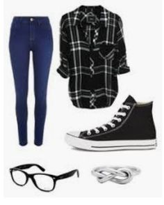 Converse and ray-ban girl hipster outfits, emo outfits, college outfits, su Summer Tomboy Outfits, Hipster Girl Outfits, Fall College Outfits, Teen Fashion Outfits, Cute Casual Outfits, Teenager Outfits, Preppy Outfits, Mode Outfits, Outfits For Teens