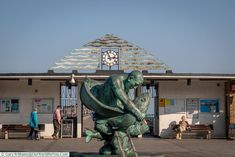Entrance to the Pier, Deal, Kent, England, UK Kent England, Days Out, 16th Century, Great Britain, Day Trips, Statues, Entrance, Ireland, Castle