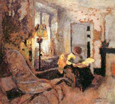 Woman Reading Edouard Vuillard - 1903