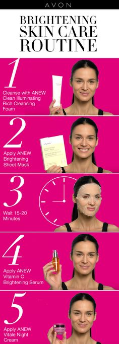 Find your AVON perfume personality        Scents   Pinte    Get radiant skin in 5 steps with Avon ANEW skin care products