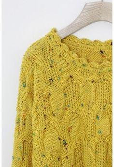 Speckle yarn