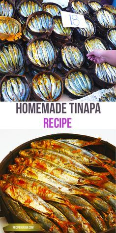 """Tinapa is a viand typically cooked by Filipinos during breakfast. Similar to other fish items such as Tuyo and Daing, Tinapa is also a dried fish fare, commonly sold in wet markets, """"bagsakan"""" or fish Ports"""
