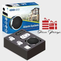 COWOO Professional Wireless Smart Home Security Alarm System DIY Kit App Control by SmartphoneCompatible with Alexa ** Be certain to look into this outstanding item. (This is an affiliate link). Home Security Alarm System, Wireless Home Security Systems, Wireless Security Cameras, Smart Home Security, Security Surveillance, Surveillance System, Design Your Dream House, Home Defense, App Control