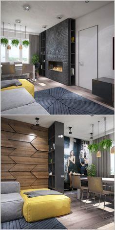 гостиная в современном стиле - Галерея 3ddd.ru
