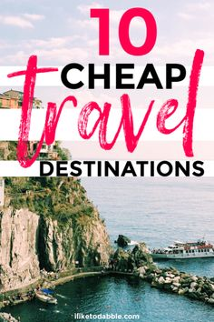 Cheap travel destinations to visit in Cheap international destinations. Bu… Cheap travel destinations to visit in Cheap international destinations. Budget travel tips. Save money on travel. Us Travel Destinations, Travel Deals, Travel Guides, Holiday Destinations Cheap, Cheap Travel, Budget Travel, Cheap Places To Travel, Travel Advice, Travel Tips