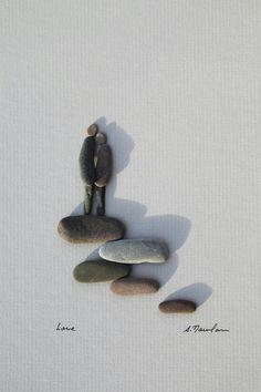Couples rock art