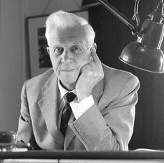 Sir Barnes Wallis - designer of Halifax, Wellington & Lancaster  bombers. Inventor of the 'bouncing bomb'. A man of vision who had to use that vision to help win a war. would like to see what he would invent or design now.