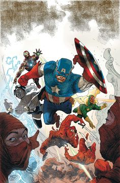 Avengers by Renato Guedes *