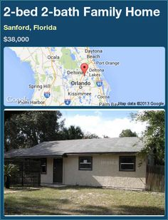 2-bed 2-bath Family Home in Sanford, Florida ►$38,000 #PropertyForSale #RealEstate #Florida http://florida-magic.com/properties/91998-family-home-for-sale-in-sanford-florida-with-2-bedroom-2-bathroom