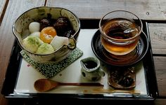 japanese style afternoon tea