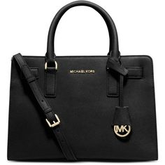 Michael Michael Kors Dillon Top Zip East West Satchel ($298) ❤ liked on Polyvore featuring bags, handbags, satchel purse, satchel hand bags, saffiano leather bag, satchel style handbags and satchel bag