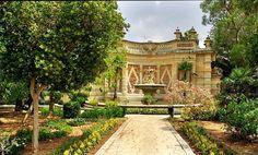 San Anton Gardens located near Attard, #Malta │ #VisitMalta visitmalta.com