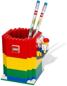 LEGO Pencil holder. The best place for the stationery.