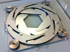 Active shading- aperture Jean Nouvel. Arab World Institute, Paris World Institute