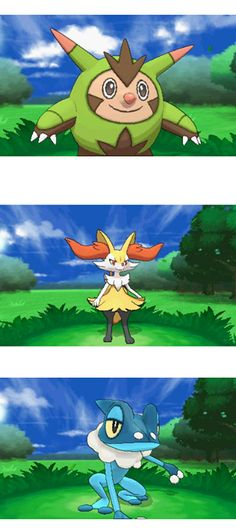 Official Game Play Trailer of Pokemon X and Y Starter Evolutions and Mega Evolutions