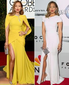 The Best Red-Carpet-to-After-Party Outfit Changes from the Golden Globes from InStyle.com