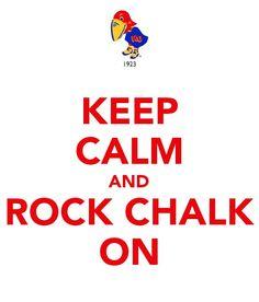 Rock Chalk Jayhawk!!!