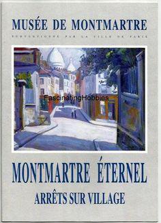 Paris 1995  MONTMARTRE Eternel  Leaflet by FascinatingHobbies