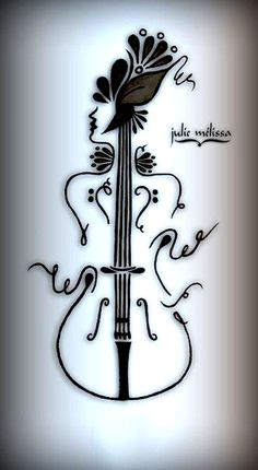 Group of: cello - Fotoğraf Detayı - Tattoo, dövme, piercing ve . Music Drawings, Cool Art Drawings, Music Artwork, Pencil Art Drawings, Art Drawings Sketches, Easy Drawings, Music Tattoo Designs, Music Tattoos, Body Art Tattoos