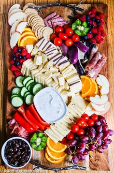 Grazing Platter - great for holiday entertaining; tips on creating the ultimate grazing platter The Ultimate Grazing Platter - tips on where to buy serving platters, ingredients for platters, and tips fo arranging the ultimate grazing platter Snack Platter, Breakfast Platter, Party Food Platters, Cheese Platters, Serving Platters, Crudite Platter Ideas, Meze Platter, Charcuterie And Cheese Board, Charcuterie Platter