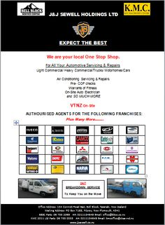 Some of the Franchises we are Agents for. If we don't have what you need, we'll get it!