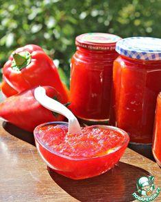 Конфитюр из болгарского перца – кулинарный рецепт
