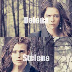 Vampire Diaries - Delena - Stelena - Damon & Elena - Stefan & Elena