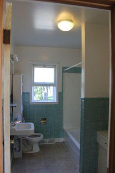 Old Tile Bathroom