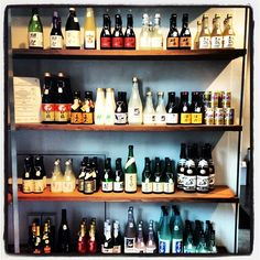 The #sake section is restocked and looking mighty fine! by @The Urban Grape on Instagram