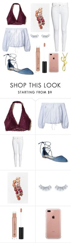 """""""Yusra"""" by maevedomond on Polyvore featuring Hollister Co., Sea, New York, Gap, Anastasia Beverly Hills, Belkin and Bling Jewelry"""