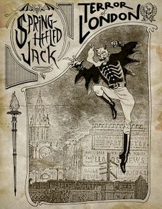 Spring-Heeled Jack, the terror of Victorian London