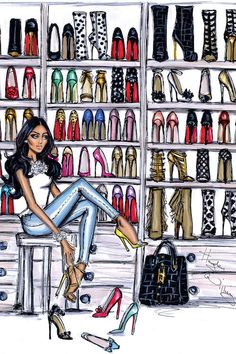 Fashion illustration sketches chanel hayden williams ideas for 2019 Hayden Williams, Fashion Art, Girl Fashion, Fashion Design, Fashion Shoes, Trendy Fashion, Paris Fashion, Barbie Mode, Chica Cool
