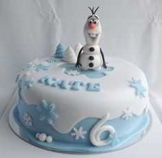 Ledové království / Frozen cake with Olaf