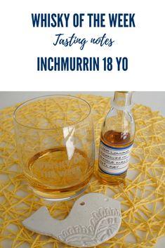 Inchmurrin 18 yo Single Malt Whisky Review and Tasting Notes Single Malt Whisky, Distillery, Alcoholic Drinks, Notes, Glass, Report Cards, Drinkware, Corning Glass, Liquor Drinks