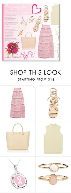 """""""I waer Pink for Hope"""" by hirw ❤ liked on Polyvore featuring Roksanda, Wild Diva, Givenchy, Guide London, Uniqlo, Accessorize, Michael Kors and IWearPinkFor"""