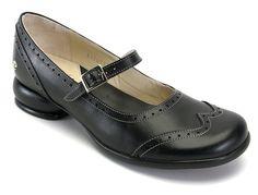 John Fluevog Fellowship Kathy 7 OR 9 Mary Jane Brogue Shoe Black Heels Low, Low Heels, John Fluevog, Everyday Shoes, Unique Shoes, Mary Jane Heels, Pretty Shoes, Beautiful Shoes, Roger Vivier