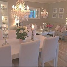 LOVE THIS - Light colours & soft pink decor access. LOVE THIS – Light colours & soft pink decor accessories Pink Living Room, Home And Living, Living Room Designs, Interior, Dinning Room Decor, Living Room Decor, House Interior, Room Decor, Apartment Decor
